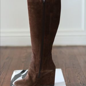 NBW - Nine West Suede Brown Knee-high boot 😍👢